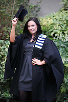 NO REPRO FEE. 25/11/2011. Independent College Dublin graduations.  Sarah Murphy from Laois, H.Dip Psychotherapy is pictured after graduating from Independent College Dublin. For more info please contact Annie Leger annie.leger@independentcolleges.ieT: +353 1 635 5811Picture James Horan/Collins