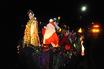 The Vox float in the Christmas parade in Oxford, Miss. on Monday, December 3, 2012.