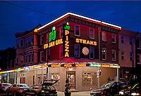 Pizza & Steaks, South Philly, Philadelphia, PA, USA