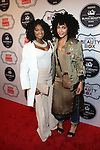 Curls and Couture's Courtney Danielle and The Notoriyas KIA's Kia Marie attend the 2016 ESSENCE Best in Black Beauty Awards Carnival
