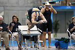 19 February 2016: Notre Dame's Ellie Moynihan competes in the 200 Freestyle preliminary heat 4. The 2016 Atlantic Coast Conference Swimming and Diving Championships were held at the Greensboro Aquatic Center in Greensboro, North Carolina from February 17-27, 2016.