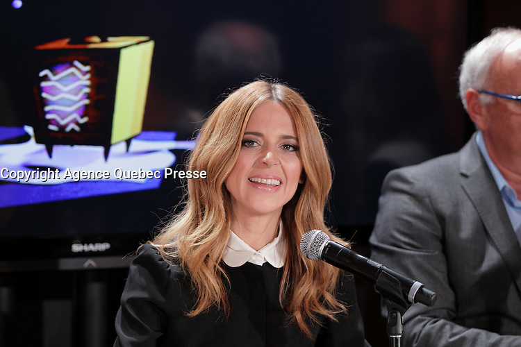 FILE PHOTO of Julie Snyder in 2015<br /> <br /> TV producer Snyder and her Husband Pierre-Karl Peladeau are divorcing after 6 months.<br /> <br /> Photo : Agence Quebec Presse<br /> <br /> <br /> <br /> <br /> <br /> <br /> <br /> <br /> <br /> <br /> <br /> .
