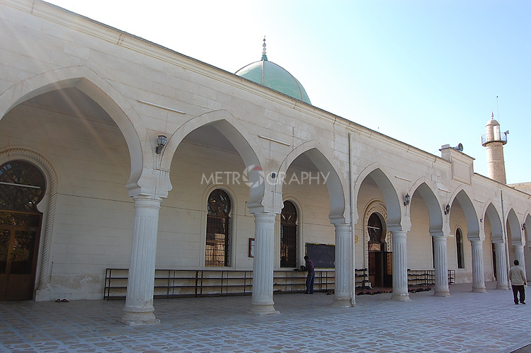 IRAQ, MOSUL:  A view of the Noori Kabil Mosque in Mosul...Photo by Bashar Adnan/Metrography