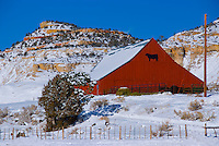 Barn in Boulder, Working ranch on Boulder Mountain slopes, Utah