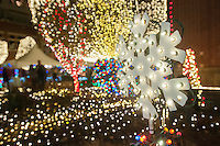 NWA Democrat-Gazette/ANTHONY REYES &bull; @NWATONYR<br /> The Lights of the Ozarks Wednesday, Dec. 9, 2015 on the Fayetteville square.
