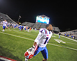 Ole Miss vs. Louisiana Tech's Craig Johnson (14) in Oxford, Miss. on Saturday, November 12, 2011. Louisiana Tech won 27-7.
