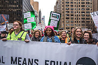 NEW YORK, NY - JANUARY 21: Actor and celebrity Whoopi Goldberg takes part in the Women's March on NYC on Saturday, Jan. 21, 2017. Protesters in the United States and around the world are joining marches Saturday to raise awareness of women's rights and other civil rights they fear could be under threat under Donald Trump's presidency. Photo by VIEWpress/Maite H. Mateo.