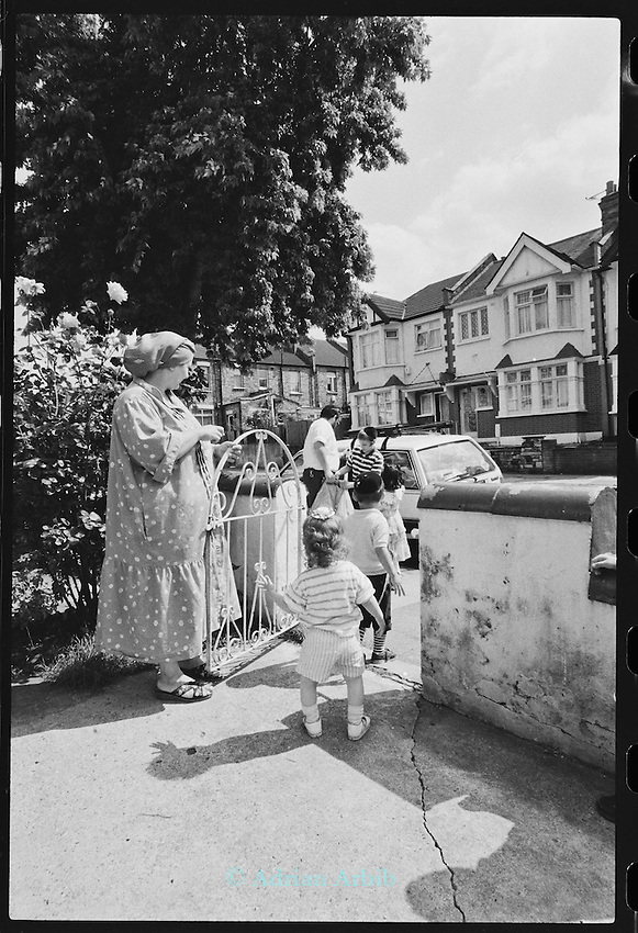 Sharer family house.  Stamford Hill  North London