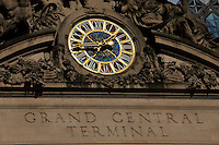 New York, United States. January 23, 2013. .The watch of the Grand Central Station is seen few days before it marks its 100th anniversary on Feb. 2, 2013 in New York City  -- . Photo by Eduardo Munoz Alvarez / VIEWpress.