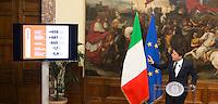 20161118 ROMA-POLITICA: RENZI FA IL PUNTO DOPO I PRIMI MILLE GIORNI DEL SUO GOVERNO