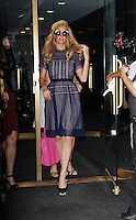 NEW YORK, NY-September 14: Pa\ris Hilton at Today Show at the about her company Paris Hilton Entertainment and latest fragrance Gold Rush  in New York. September 14, 2016. Credit:RW/MediaPunch