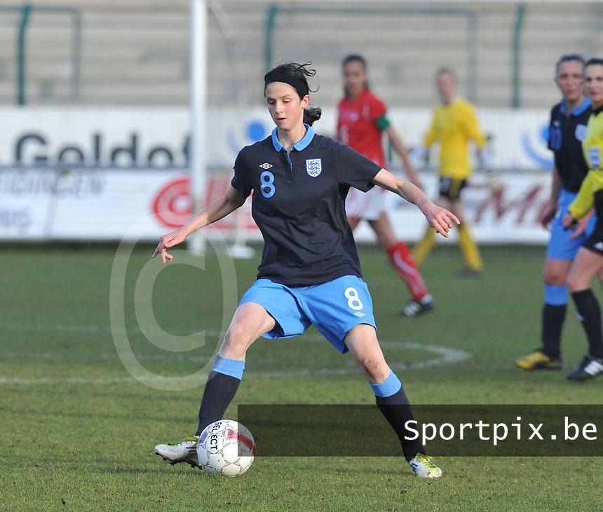UEFA Women's Under 17 Championship - Second Qualifying round - group 1 : England - Switzerland : .Abbey-Leigh Stringer.foto DAVID CATRY / Vrouwenteam.be