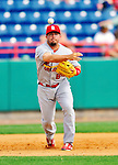 12 March 2012: St. Louis Cardinals infielder Zack Cox in action during a Spring Training game against the Washington Nationals at Space Coast Stadium in Viera, Florida. The Nationals defeated the Cardinals 8-4 in Grapefruit League play. Mandatory Credit: Ed Wolfstein Photo