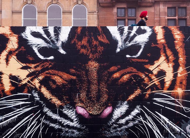 Street, Glasgow, Scotland, UK