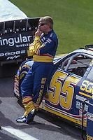 Bobby Hamilton, Daytona 500, Daytona International Speedway, Daytona Beach, FL, February 18, 2001.  (Photo by Brian Cleary/ www.bcpix.com )