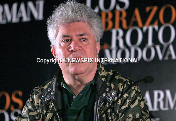 "PEDRO ALMODOVAR.presents Los Abrazos Rotos in Madrid_13/03/2009.Mandatory Credit Photo: ©NEWSPIX INTERNATIONAL..**ALL FEES PAYABLE TO: ""NEWSPIX INTERNATIONAL""**..IMMEDIATE CONFIRMATION OF USAGE REQUIRED:.Newspix International, 31 Chinnery Hill, Bishop's Stortford, ENGLAND CM23 3PS.Tel:+441279 324672  ; Fax: +441279656877.Mobile:  07775681153.e-mail: info@newspixinternational.co.uk"