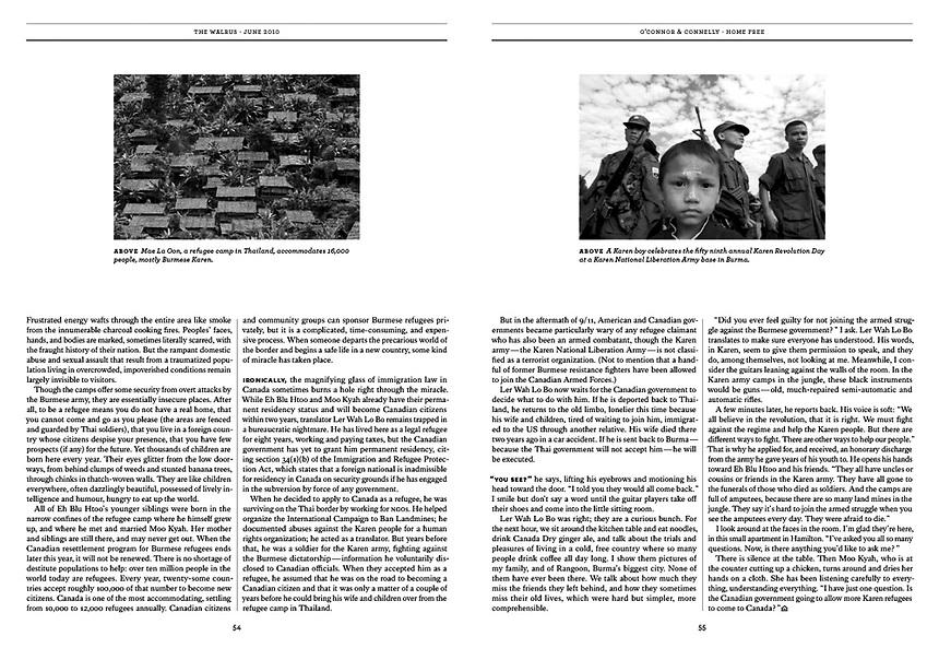 The Walrus print magazine (Canada)