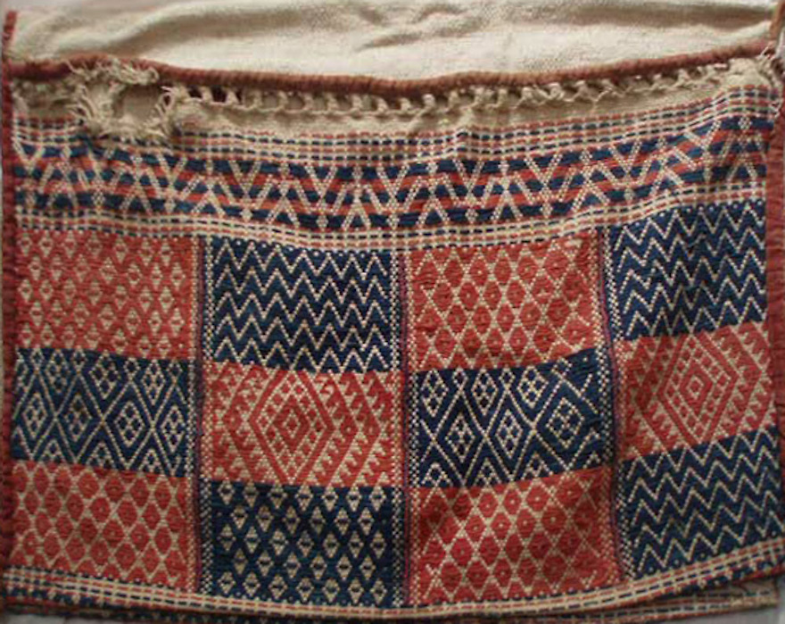 VINTAGE DOUBLE SADDLE BAG FROM KUTCH GUJARAT