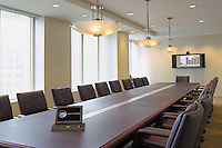 High Tech Boardroom With Convergence Room Control