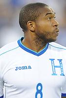 Washington, D.C.- May 29, 2014. Honduras midfielder Wilson Palacios.  Turkey defeated Honduras 2-0 during an international friendly game at RFK Stadium.