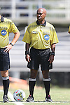 31 August 2014: Fourth Official: David McPhun. The Duke University Blue Devils hosted the Stetson University Hatters at Koskinen Stadium in Durham, North Carolina in a 2014 NCAA Division I Men's Soccer match. Duke won the game 8-2.