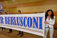 Roma, 29 Marzo 2015<br /> Convention di Forza Italia: Roma l'Italia e l'Europa che vogliamo. Attivisti di Forza Italia<br /> Rome, March 29, 2015<br /> Convention  of Forza Italy: Rome the Italy and Europe that we want. Activists of Forza Italy