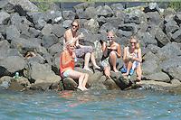 SKUTSJESILEN: LEMMER: Lemster baai, 01-08-2013, SKS skûtsjesilen, Lemmer 2, ©foto Martin de Jong