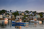 Fishing boats in Stonington Harbor, Stonington, ME, USA