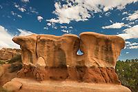 792800279 a strange shaped sandstone formation in devils garden escalante grand staircase national monument utah united states