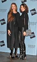 Gyunel Taylor and Olga Kurylenko at the Skate at Somerset House with Fortnum &amp; Mason VIP launch party, Somerset House, The Strand, London, England, UK, on Wednesday 16 November 2016. <br /> CAP/CAN<br /> &copy;CAN/Capital Pictures /MediaPunch ***NORTH AND SOUTH AMERICAS ONLY***