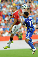 Gabriel Obertan, Roger Espinoza...Kansas City Wizards defeated Manchester United 2-1 in an international friendly at Arrowhead Stadium, Kansas City, Missouri.