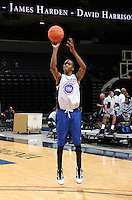 BJ Young at the NBPA Top100 camp June 17, 2010 at the John Paul Jones Arena in Charlottesville, VA. Visit www.nbpatop100.blogspot.com for more photos. (Photo © Andrew Shurtleff)