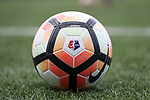 CHARLOTTE, NC - MARCH 25: 2017 NWSL match ball. The NWSL's North Carolina Courage played their first preseason game against the University of Tennessee Volunteers on March 25, 2017, at Queens University of Charlotte Sports Complex in Charlotte, NC. The Courage won the match 3-0.