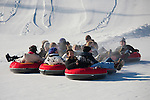 Companion on Otepää Snowtubing Track, Valga County,  Estonia