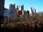 Central park lake. Images of New York 2004, New York,U.S.A