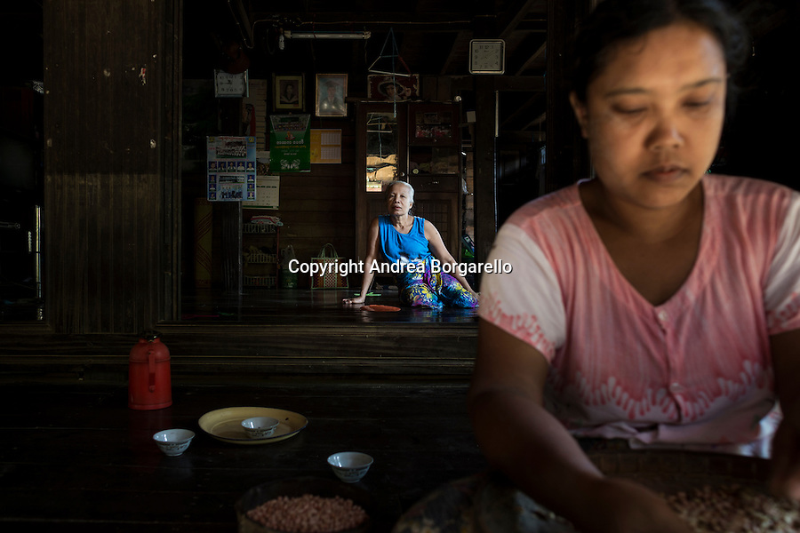 Pan Taw Village, Thandwe, Rakhine State, Myanmar - May 2016