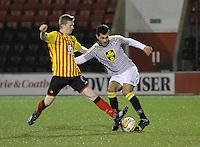 Partick Thistle v St Mirren, Development League 260115