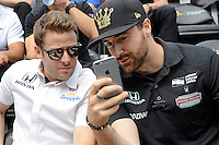 2016 Indy 500 Drivers Meeting