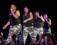 WEST PALM BEACH, FL - JULY 16: Drew Lachey of 98 Degrees in concert at The Perfect Vodka Amphitheater on July 16, 2016 in West Palm Beach Florida. Credit: mpi04/MediaPunch
