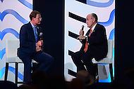 """Washington, DC - September 9, 2016: Former New York City mayor Rudolf """"Rudy"""" Giuliani speaks during a conversation with FRC president Tony Perkins at the Values Voter Summit, held at the Omni Shoreham hotel in the District of Columbia, September 9, 2016.  (Photo by Don Baxter/Media Images International)"""