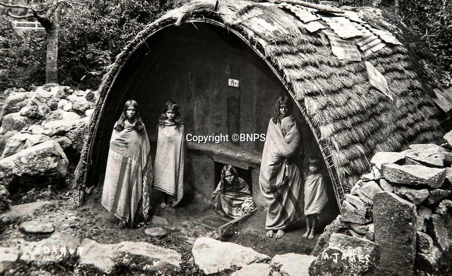 BNPS.co.uk (01202 558833)<br /> Pic: PhilYeomans/BNPS<br /> <br /> Album also contains pictures of local scene's - here women outside their home in Madras.<br /> <br /> Last Days of the Raj - A fascinating family album from one of the last Viceroy's of India reveal Britain's 'Jewel in the Crown' in all its splendour.<br /> <br /> The family album of Viscount George Goschen has been unearthed after 90 years, and provide's an amazing snapshot of the pomp and pageantry of a wealthy and powerful British family in India in the 1920s and 30's.<br /> <br /> They show the Governor of Madras and his family enjoying a lavish lifestyle of parades, banquets and hunting and horse racing in the last decades of the Raj.<br /> <br /> At the time, Gandhi was organising peasants, farmers and labourers to protest against excessive land-tax and discrimination. <br /> <br /> The album consists of some 300 large photographs. They have remained in the family for 90 years but have now emerged for auction following a house clearance and are tipped to sell for &pound;200.
