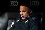 Coach Jorge Luis Sampaoli of Sevilla FC looks on during their Copa del Rey Round of 16 match between Real Madrid and Sevilla FC at the Santiago Bernabeu Stadium on 04 January 2017 in Madrid, Spain. Photo by Diego Gonzalez Souto / Power Sport Images