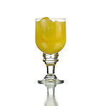 Orange juice with ice or Screwdriver