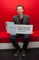 ***NO FEE PIC *** 05/06/2014 Jury Member Nicky Phelan from Oscar-nominated animator at Brown Bag Films during the launch of the ICCL (Irish Council for Civil Liberties) Human Rights Film Awards Shortlist at the IFCO in Smith field, Dublin. Photo: Gareth Chaney Collins