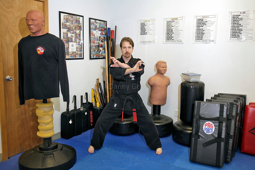 Christopher Babel is the owner and head instructor at Red Dragon Karate in Bellmore, NY. The center teaches Kenpo Karate, a practical martial art with emphasizing self-defence.