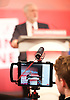 Jeremy Corbyn  Leader of the Labour Party speech - EU referendum is &lsquo;era-defining moment&rsquo; for workers&rsquo; rights<br /> 2nd June 2016 <br /> at the Kelvin Lecture Theatre, IET, Savoy Place, London. Great Britain <br /> <br /> Jeremy Corbyn <br /> <br /> <br /> Photograph by Elliott Franks <br /> Image licensed to Elliott Franks Photography Services