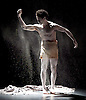 Rambert Dance <br /> New Choreography at The Place, London, Great Britain <br /> 16th December 2014 <br /> <br /> O'dabo<br /> choreography by Dane Hurst <br /> Music by Paul Gladstone Reid MBA<br /> Symphony of Dust and Air <br /> Lighting by Lucy Hansom <br /> Dancer Dane Hurst <br /> <br /> <br /> <br /> <br /> Photograph by Elliott Franks <br /> Image licensed to Elliott Franks Photography Services