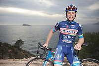 pre-2016 season portrait of Antoine Demoiti&eacute; (BEL/Wanty-Groupe Gobert) who was involved in a serious crash during the 2016 Gent-Wevelgem where he got hit by a motorbike that couldn't avoid a collision.<br /> Demoiti&eacute;'s condition was that serious that he was taken to ICU/hospital where he eventually succumbed to his injuries. <br /> Antoine was 25 yrs old.<br /> <br /> Team Wanty-Groupe Gobert 2016 pre-season training camp<br /> Benidorm, Spain