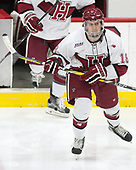 Adam Fox (Harvard - 18) - The Harvard University Crimson defeated the St. Lawrence University Saints 6-3 (EN) to clinch the ECAC playoffs first seed and a share in the regular season championship on senior night, Saturday, February 25, 2017, at Bright-Landry Hockey Center in Boston, Massachusetts.