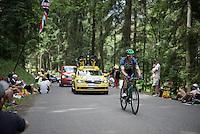 Michael Albasini (SUI/Orica-BikeExchange)<br /> <br /> Stage 18 (ITT) - Sallanches &rsaquo; Meg&egrave;ve (17km)<br /> 103rd Tour de France 2016